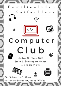 Computer Club Poster